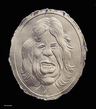 Relief Mick Jagger by Suhas Tavkar