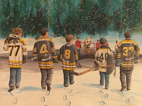 Rematch - Stanley Cup 2013 by Ron  Genest