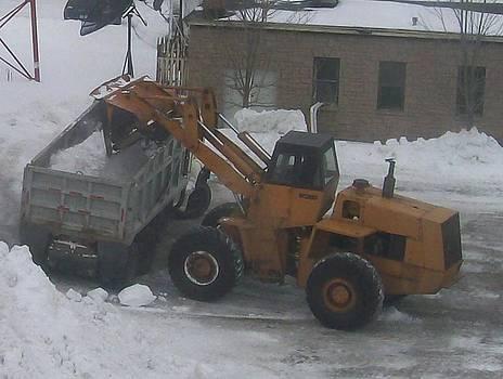 Removing Snow by Jonathon Hansen