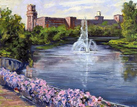 Renaissance Fountain by Ken Fiery