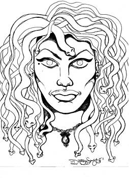 Rendition of Medusa by Destiny Surreal