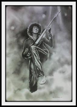 Renegade .  P. Lynott by Chris Mc Crossan