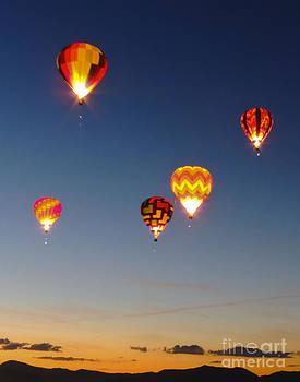 Reno Sunrise Glow Show by L J Oakes