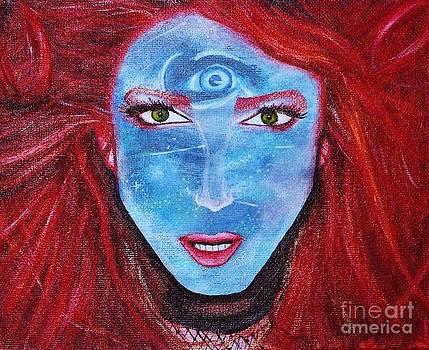 Resident of Neptune by Kaila Hernandez
