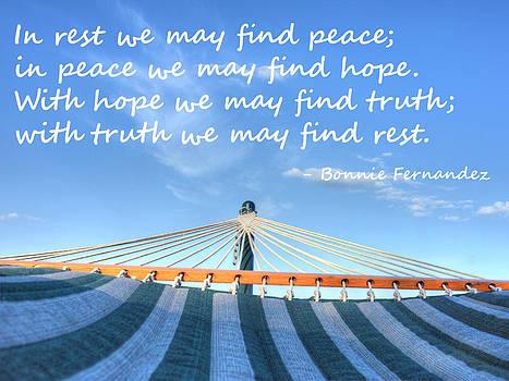 Rest by Bonnie Fernandez