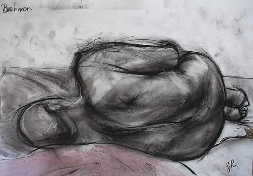 Resting Brahmin by Greg Hoey