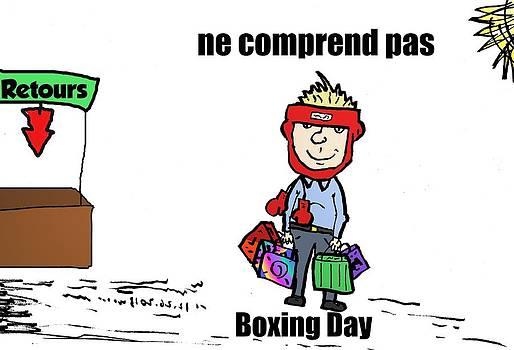 Retours sur Boxing Day comique by OptionsClick BlogArt