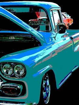 Nicki Bennett - Retro Blue Truck