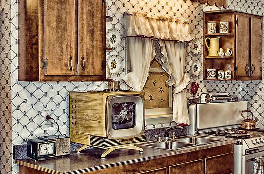Retro Kitchen by Kathy Jennings