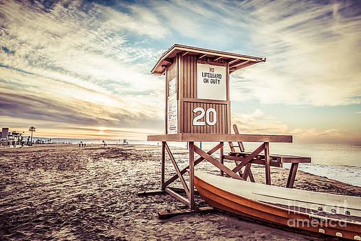 Paul Velgos - Retro Newport Beach Lifeguard Tower 20 Picture