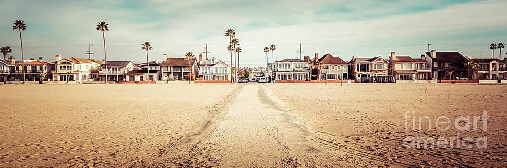 Paul Velgos - Retro Newport Beach Panorama at 11th Street and Balboa