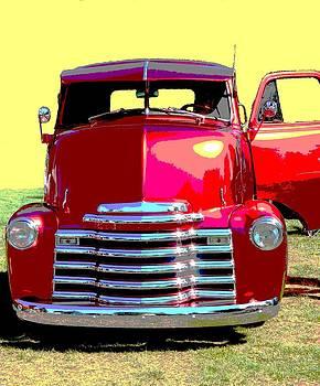 Nicki Bennett - Retro Red Truck