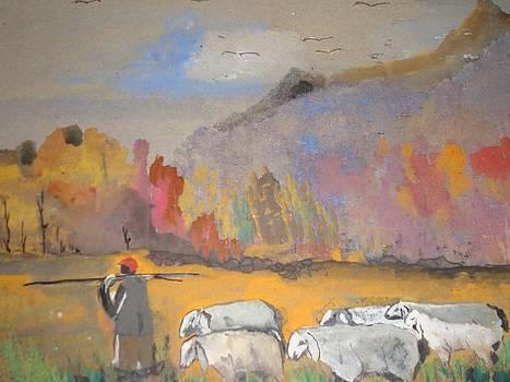 Returned Home by Lavanaya raman Rameshkumar