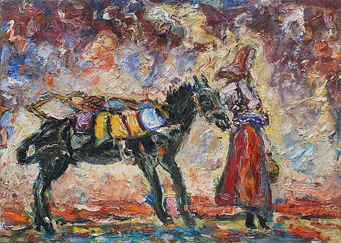 Returning From the Green Market by Borislav Djukanovic