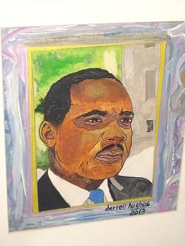 Rev. Dr. King Jr. by Darrell Hughes