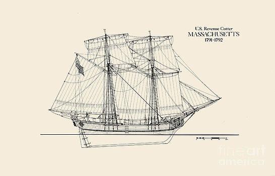 Jerry McElroy - Public Domain Image - Revenue Cutter Massachusetts