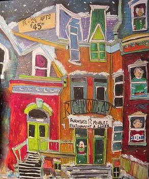 Richmond Apt.Montreal Memories by Michael Litvack