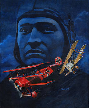 Richthofen and Brown by Richard De Wolfe