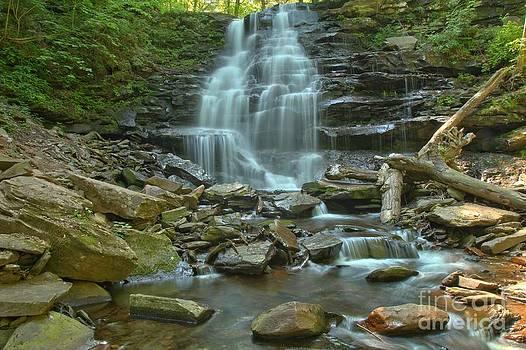 Adam Jewell - Ricketts Glen Waterfall Canyon