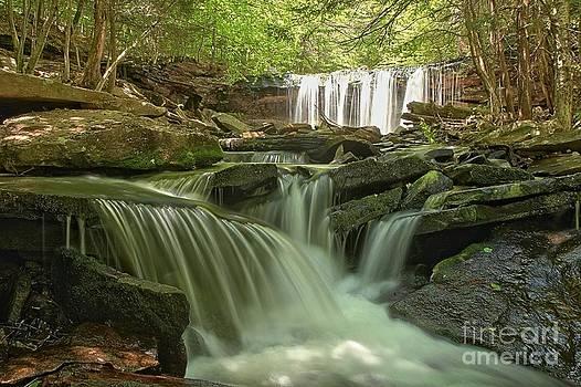 Adam Jewell - Ricketts Glen Waterfall Cascades
