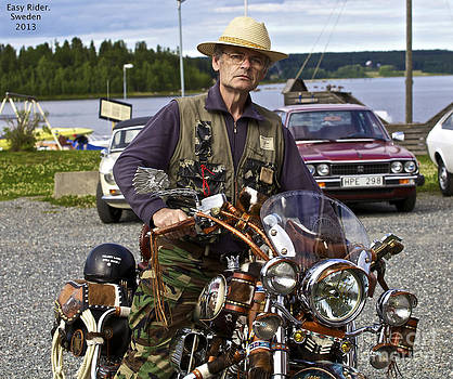 Ride to Freedom  - Easy Rider - Harley Davidson - Doctor Faustus. by  Andrzej Goszcz