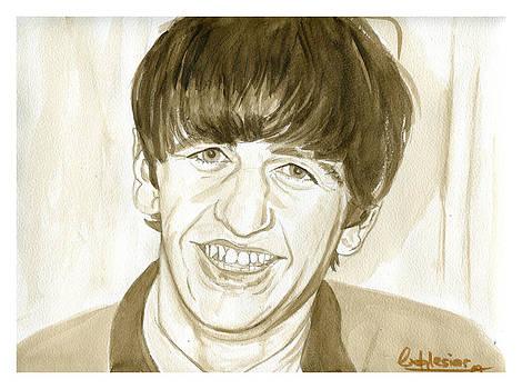 Ringo Starr by David Iglesias