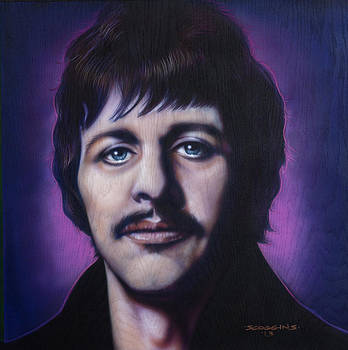 Ringo Starr by Tim  Scoggins