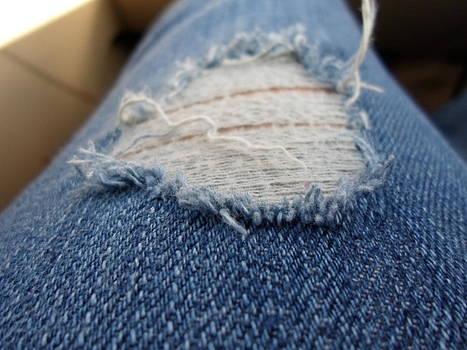 Ripped Jeans by Jenna Mengersen