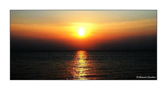 Rising Sun by Maneesh Chandran