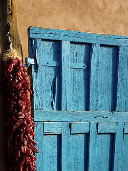 Ristras in Taos by Gia Marie Houck