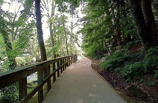 Ritter Park Path 1 by Christy Saunders Church