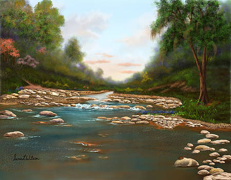 River After the Spring Rain by Sena Wilson