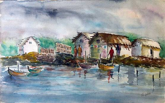 River Bank 2 by Hashim Khan