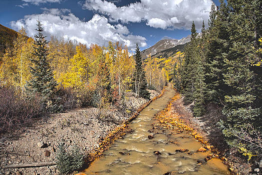 James Steele - River by Iron Town Colorado