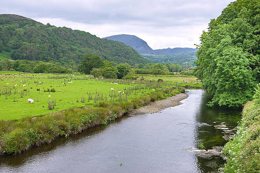 River Dwyryd Wales by Jane McIlroy