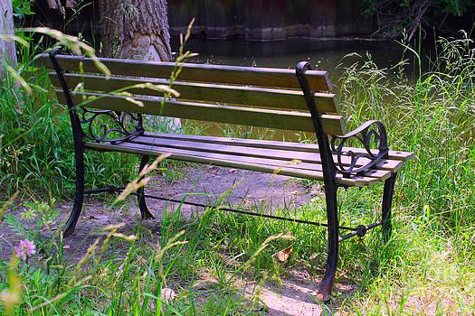 Corey Ford - River Fishing Bench