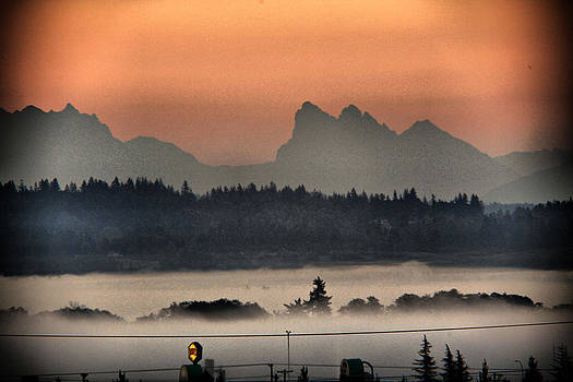 River Fog by Donald Torgerson