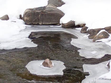 River Ice by Yvette Pichette
