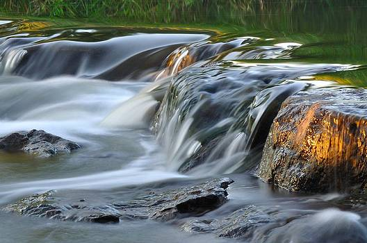 River in slow motion by Todd Soderstrom