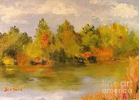River Landing by Joe Byrd