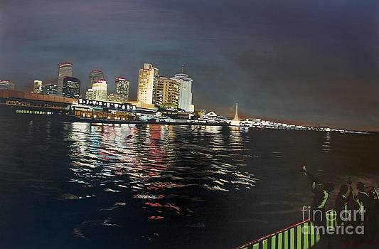River lights and all that jazz by Kelvin James