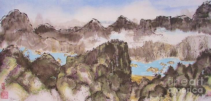 River Mountain Village by Beth Fischer