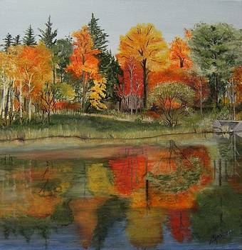 River Reflections by Connie Rowsell