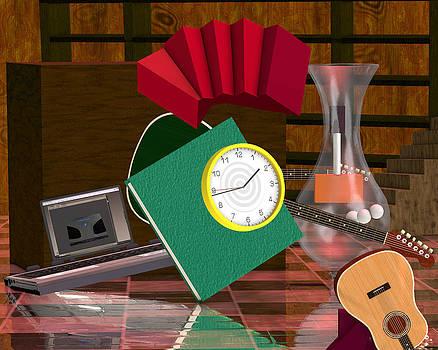Rivera's Clock by Rick Bishop