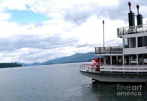 Gail Matthews - Riverboat Paddle Wheeler Ride