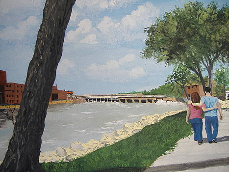 Riverfront Walk by Norm Starks