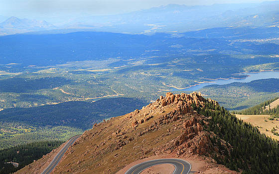 Road to Pikes Peak by Donna Haggerty