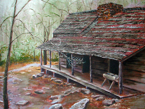 Roaring Fork Cabin by Sherry Robinson