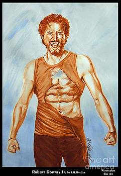 Robert Downey Jr. Happiness by Iracema Marianne Muller