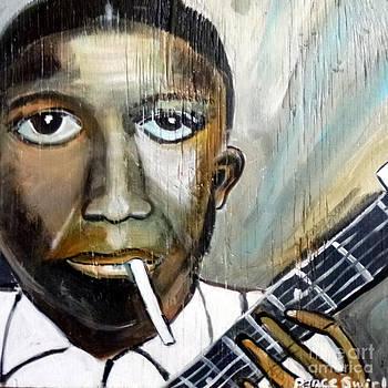 Robert Johnson King of the Delta Blues by Debora PeaceSwirl D'Angelo